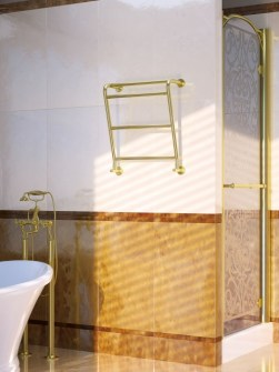 traditional towel warmers, hotel radiators, gold towel radiators