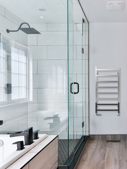 chrome towel radiators, chrome radiators, chrome heated towel rails,