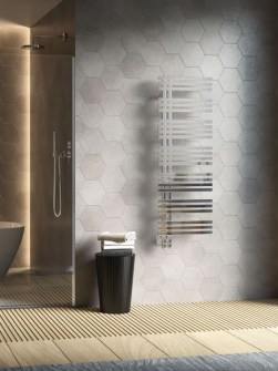 stainless steel heated towel rails, stainless steel towel radiators, stainless steel radiators