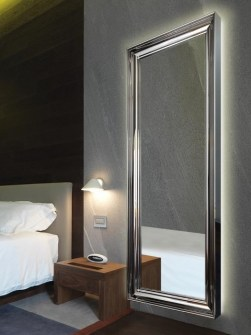 mirror radiators, radiators with mirror, heated mirror