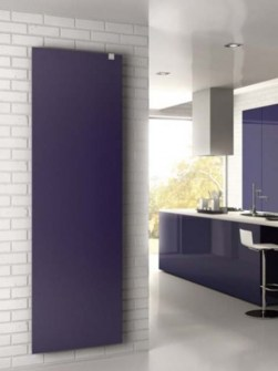 stylish radiators, blue radiators, bedroom radiators