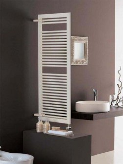 room divider radiators, heated towel rails, coloured towel radiators