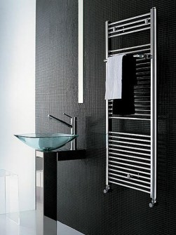 chrome ladder radiator, chrome towel warmer, chrome radiators