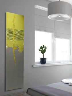 art radiators, stylish radiators, designer radiators, yellow radiators