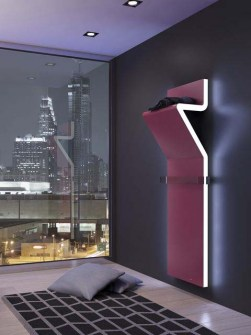 funky radiators, unusual radiators, pink radiators