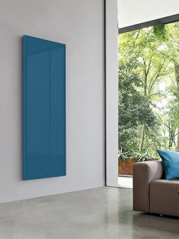 blue radiators, unique radiators, stylish radiators