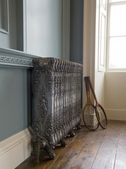cast iron radiators, bronze colored radiators, traditional radiators