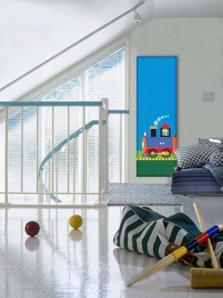 childen's room radiators, kids room radiator, radiator with picture