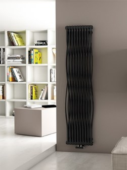 designer radiators, vertical radiators, modern radiators, funky radiators, coloured radiators