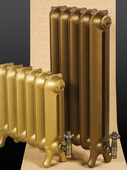 traditional radiators, period radiators, cast iron radiators, bronze radiators