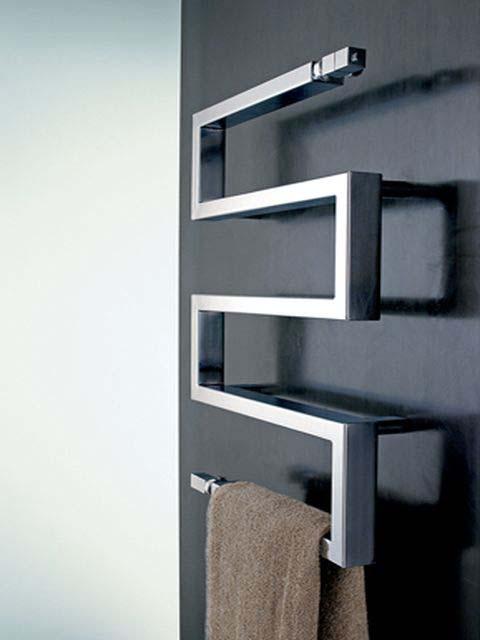 serpentes stainless steel radiator towel radiators senia. Black Bedroom Furniture Sets. Home Design Ideas
