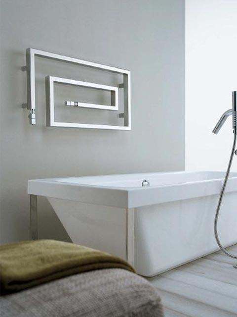 unusual heated towel rails, stainless steel towel rails, stainless steel radiators