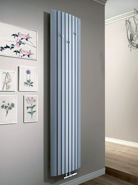 hallway radiators, coat rack radiators, grey radiators